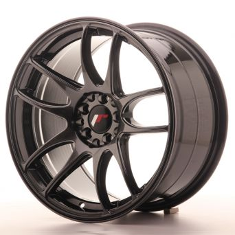 Japan Racing Wheels - JR-29 Hyper Black (17x9 inch)