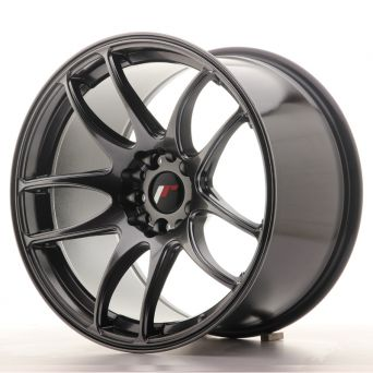 Japan Racing Wheels - JR-29 Hyper Black (18x10.5 inch)