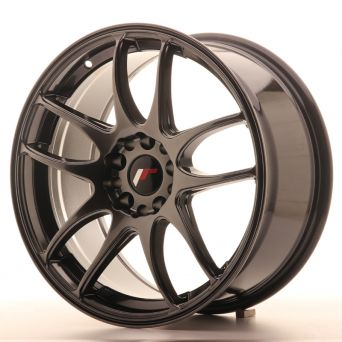 Japan Racing Wheels - JR-29 Hyper Black (18x8.5 inch)