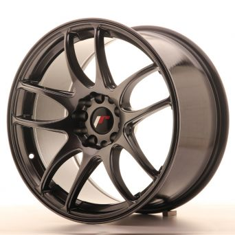 Japan Racing Wheels - JR-29 Hyper Black (18x9.5 inch)
