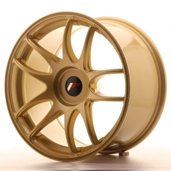 Japan Racing Wheels - JR-29 Gold (18x9.5 inch)