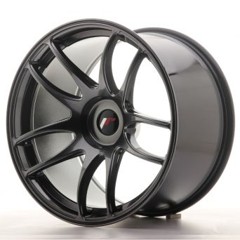 Japan Racing Wheels - JR-29 Hyper Black (19x11 Zoll)