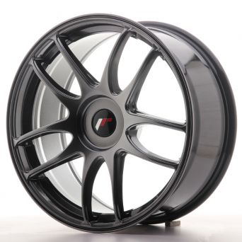 Japan Racing Wheels - JR-29 Hyper Black (19x8.5 inch)