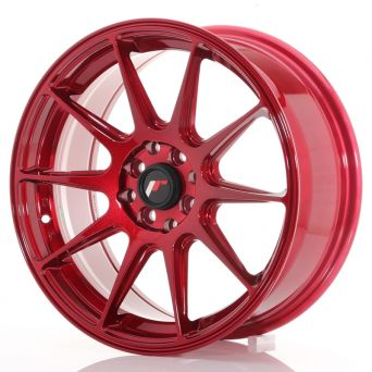 Japan Racing Wheels - JR-11 Plat Red (17x7.25 inch)
