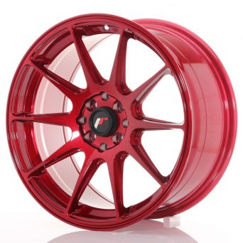 Japan Racing Wheels - JR-11 Plat Red (17x8.25 inch)