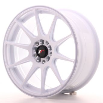 Japan Racing Wheels - JR-11 White (17x8.25 inch)
