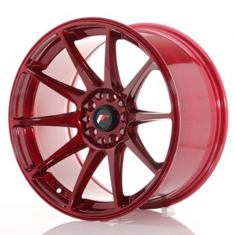 Japan Racing Wheels - JR-11 Plat Red (18x9.5 inch)
