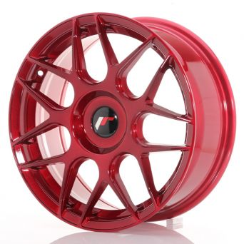 Japan Racing Wheels - JR-18 Plat Red (17x7 inch)