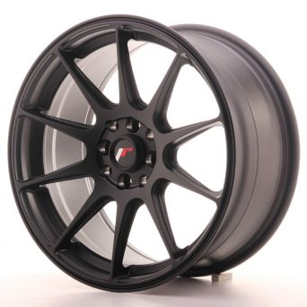 Japan Racing Wheels - JR-11 Matt Black (17x8.25 inch)