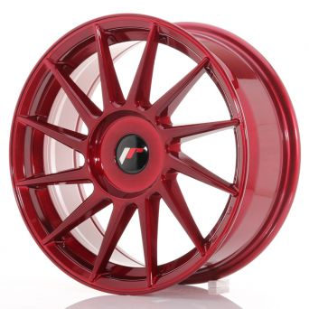 Japan Racing Wheels - JR-22 Plat Red (17x7 inch)