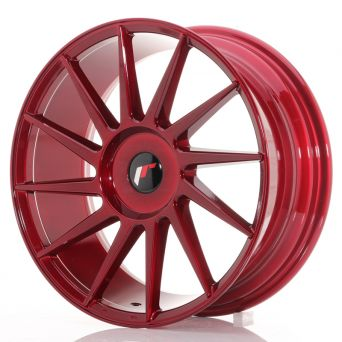 Japan Racing Wheels - JR-22 Plat Red (18x7.5 inch)