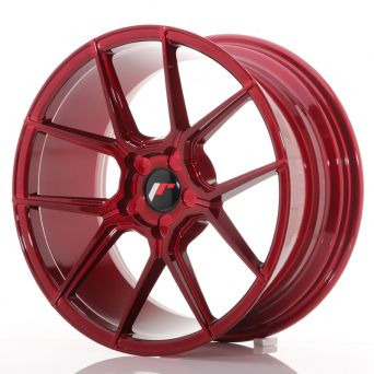 Japan Racing Wheels - JR-30 Plat Red (18x8.5 inch)