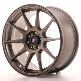 Japan Racing Wheels - JR-11 Matt Bronze (17x8.25 inch)
