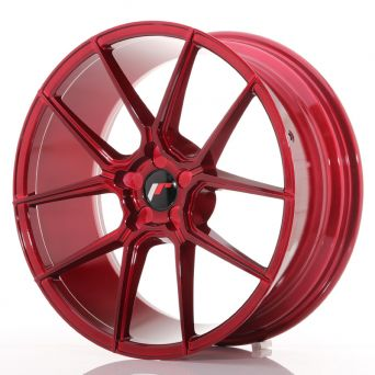 Japan Racing Wheels - JR-30 Plat Red (20x8.5 inch)