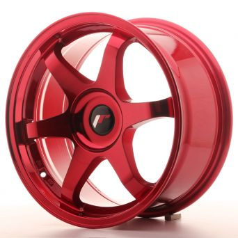 Japan Racing Wheels - JR-3 Plat Red (17x8 inch)
