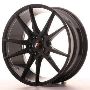 Japan Racing Wheels - JR-21 Glossy Black (20x8.5 Zoll)