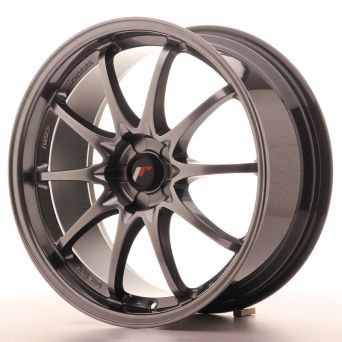 Japan Racing Wheels - JR-5 Hyper Black (19x8.5 inch)