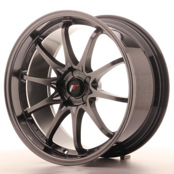 Japan Racing Wheels - JR-5 Hyper Black (19x9.5 inch)