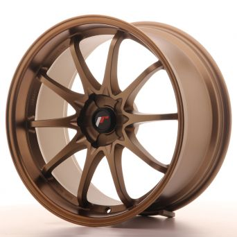 Japan Racing Wheels - JR-5 Dark Anodize Bronze (19x9.5 inch)