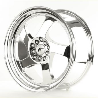 Japan Racing Wheels - JR-15 Chrome (18x8.5 inch - 5x114.3 ET 40)