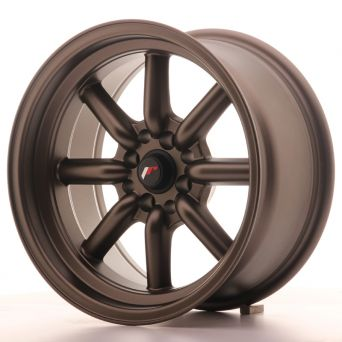 Season Sale - Japan Racing Wheels - JR-19 Matt Bronze (16x8 inch)