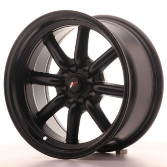 Season Sale - Japan Racing Wheels - JR-19 Matt Black (16x8 inch)