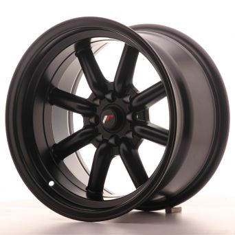 Season Sale - Japan Racing Wheels - JR-19 Matt Black (16x9 inch)