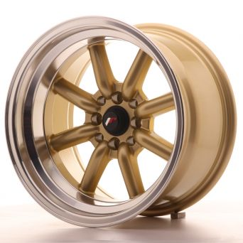 Season Sale - Japan Racing Wheels - JR-19 Gold (16x9 inch)