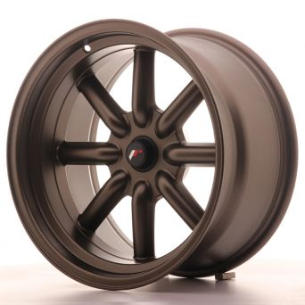 Season Sale - Japan Racing Wheels - JR-19 Matt Bronze (17x9 inch)