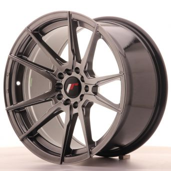 Season Sale - Japan Racing Wheels - JR-21 Glossy Black (17x9 inch)