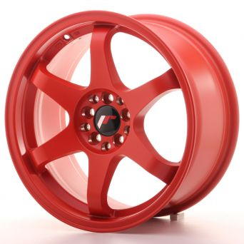 Season Sale - Japan Racing Wheels - JR-3 Matt Bloody Red (17x8 inch)