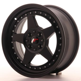 Season Sale - Japan Racing Wheels - JR-6 Matt Black (16x7 inch)