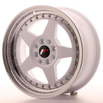 Season Sale - Japan Racing Wheels - JR-6 White (16x7 inch)
