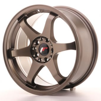Japan Racing Wheels - JR-3 Bronze (17x8 Zoll - 5x100 ET 35)