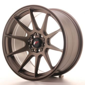 Japan Racing Wheels - JR-11 Matt Bronze (17x9 inch - 4x100/114.3 ET 20)