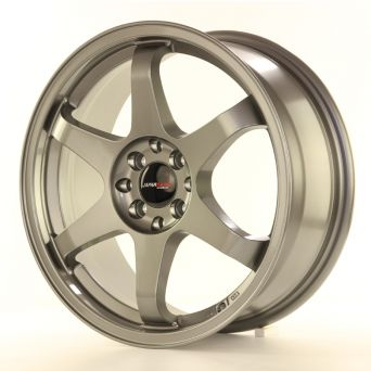 Japan Racing Wheels - JR-3 Gun Metal (17x7 inch - 4x100/114.3 ET 40)
