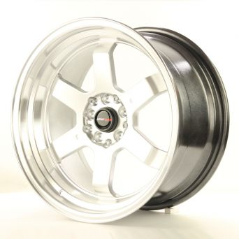 Japan Racing Wheels - JR-12 Hyper Silver Polished Lip (17 inch)