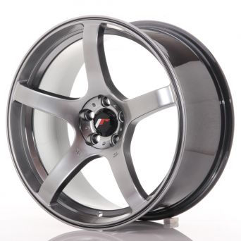 Japan Racing Wheels - JR-32 Hyper Black (18x8.5 inch)