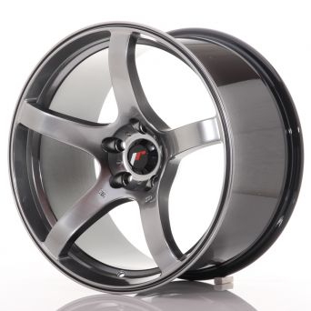 Japan Racing Wheels - JR-32 Hyper Black (18x9.5 inch)