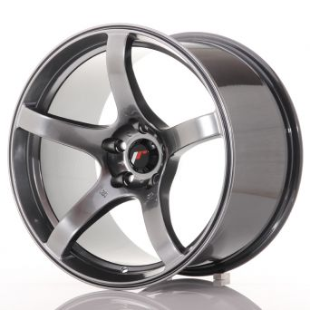 Japan Racing Wheels - JR-32 Hyper Black (18x10.5 inch)