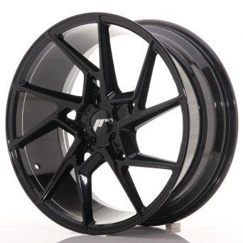 Japan Racing Wheels - JR-33 Glossy Black (19x8.5 inch)