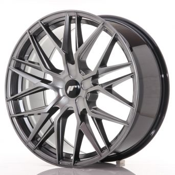 Japan Racing Wheels - JR-28 Hyper Black (21x9 inch)