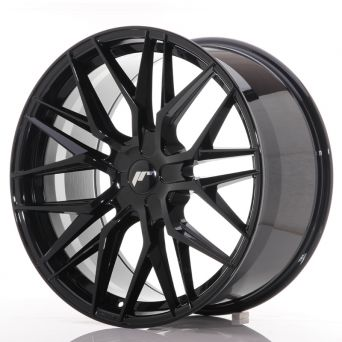 Japan Racing Wheels - JR-28 Glossy Black (21x10.5 inch)