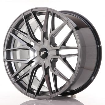 Japan Racing Wheels - JR-28 Hyper Black (21x10.5 inch)