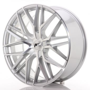 Japan Racing Wheels - JR-28 Silver Machined (22x9 inch)
