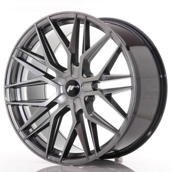 Japan Racing Wheels - JR-28 Hyper Black (22x10.5 inch)