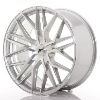 Japan Racing Wheels - JR-28 Silver Machined (22x10.5 Zoll)