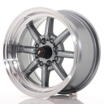 Japan Racing Wheels - JR-19 Gun Metal (14x7 inch)