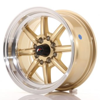Japan Racing Wheels - JR-19 Gold (14x7 inch)