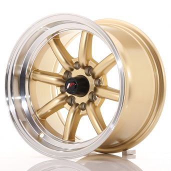 Japan Racing Wheels - JR-19 Gold (14x8 inch)